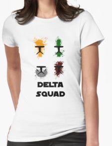 Republic Commando - Delta Squad Womens Fitted T-Shirt