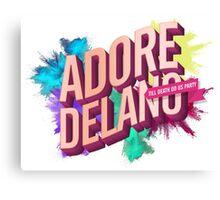 Adore Delano - Till Death Do Us Party Canvas Print