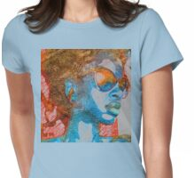 Copacabana em Azul Womens Fitted T-Shirt