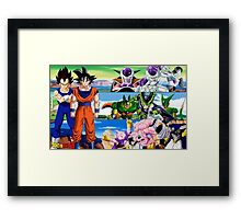 The beauty and Vengeance Framed Print