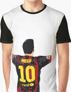 Messi after GOAL!! Graphic T-Shirt