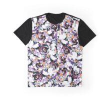 Purple Rose Graphic T-Shirt