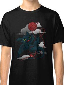 Dragons just wanna get fun - day version Classic T-Shirt