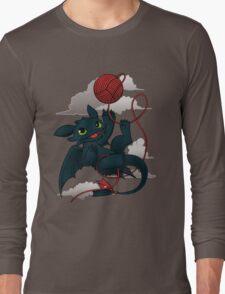 Dragons just wanna get fun - day version Long Sleeve T-Shirt