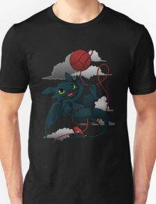 Dragons just wanna get fun - day version Unisex T-Shirt