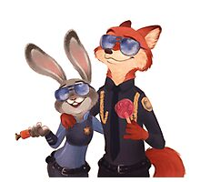 Nick and Judy Photographic Print