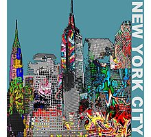 New York  City Graffiti Photographic Print