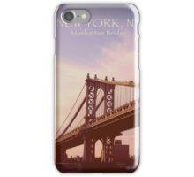 Manhattan Bridge, New York iPhone Case/Skin