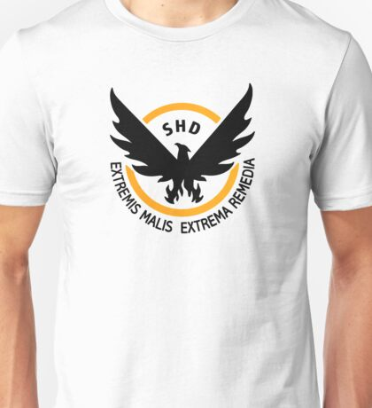 Tom Clancy's The Division - Black Unisex T-Shirt