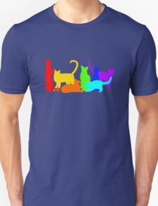 Rainbow Cats Unisex T-Shirt