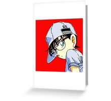 detective conan Greeting Card