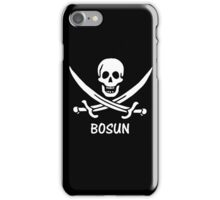 Pirate 30 BOSUN iPhone Case/Skin