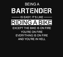 Being a Bartender is like Riding a Bike Unisex T-Shirt