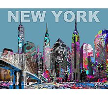 New York Graffiti Photographic Print