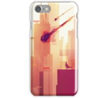 watching over the city iPhone Case/Skin