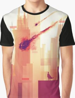 watching over the city Graphic T-Shirt