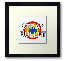 Stray Bullet Framed Print