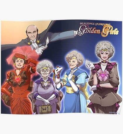 Beautiful Guardian Golden Girls Poster