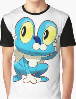 Blue Pokemon Graphic T-Shirt