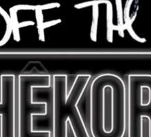 Off the rhekord Sticker