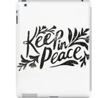 Keep In Peace iPad Case/Skin
