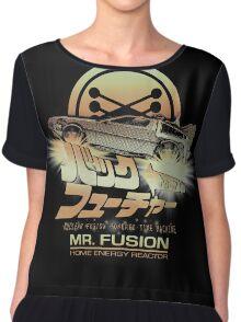 Mr Fusion - variant Chiffon Top
