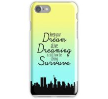 Keep Your Dream Alive - Oliver and Company iPhone Case/Skin