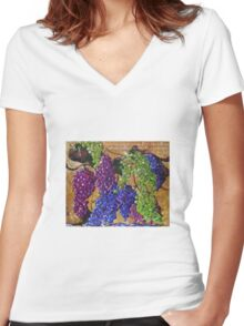 I am the Vine Women's Fitted V-Neck T-Shirt