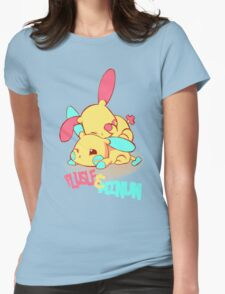 Plusle & Minun Womens Fitted T-Shirt