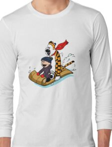 Calvin and hobbes Long Sleeve T-Shirt