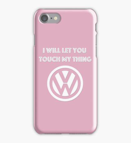 Kris's favorite color pink iPhone Case/Skin