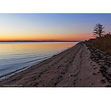 Morning Walk | Heckscher State Park | Great River, New York Photographic Print