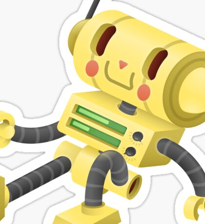Chillbot Sticker