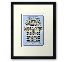 Inspected and Tested Framed Print