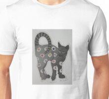 Floral Feline....! Unisex T-Shirt