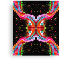 Crossover Twisted Inspiration Canvas Print