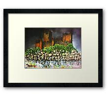Templar Castle of Almourol Framed Print