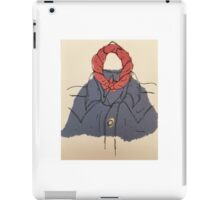 Denim shirt and bandana iPad Case/Skin