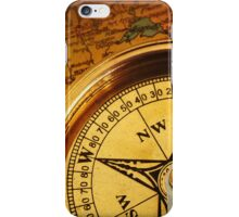 Compass for a captain iPhone Case/Skin