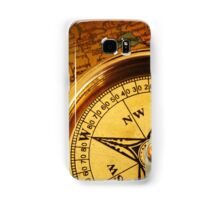 Compass for a captain Samsung Galaxy Case/Skin