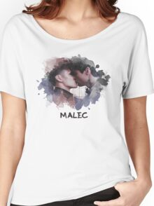 Malec - Shadowhunters - Canvas Women's Relaxed Fit T-Shirt
