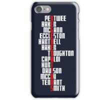 Regenerations (Dark Clothing Version) iPhone Case/Skin