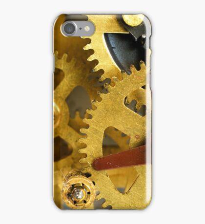 Golden gears iPhone Case/Skin