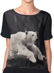 polar bear Chiffon Top