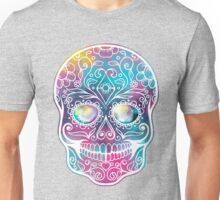 Watercolor Skull Unisex T-Shirt