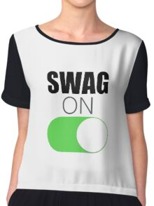 Swag On Chiffon Top