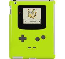 The Old School Boy iPad Case/Skin