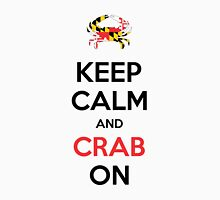 Keep Calm and CRAB On! - Maryland Crab T-Shirt