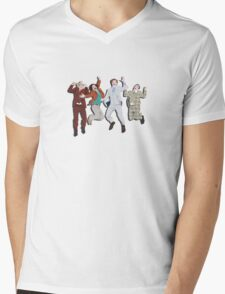 Anchorman Flash Mens V-Neck T-Shirt