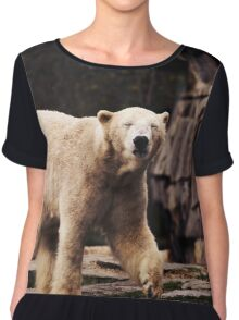 bear, polar bear Chiffon Top